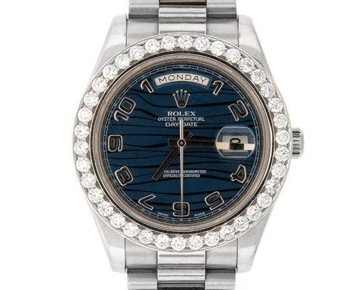 Rolex Oyster Perpetual Day-Date 41 mm 18K White Gold